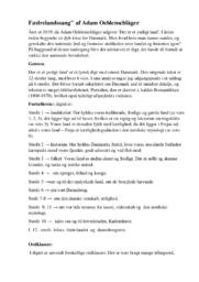 Fædrelandssang af Adam Oehlenschläger | 10 i karakter