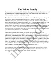 The White Family | Engelsk