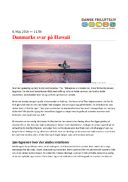 Danmarks svar på Hawaii | 12 i karakter