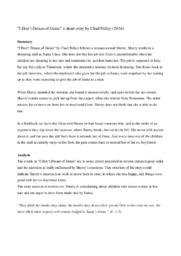 I Don't Dream of Genie a short story | Chad Pelley | 10 i karakter