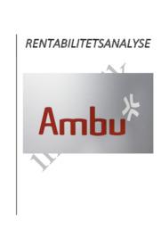 Rentabilitetsanalyse | Ambu | Virksomhedsøkonomi