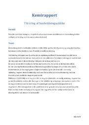 Titrering af husholdningseddike | 10 i karakter