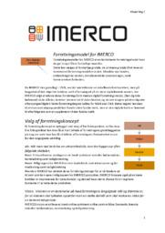 IMERCO | Afsætning C