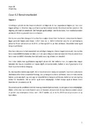Benzinmarkedet   Case 4.2   Afsætning opgave