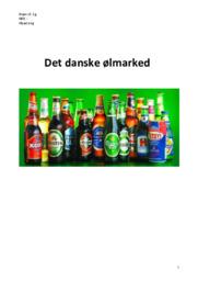 Det danske ølmarked   Opgave   10 i karakter