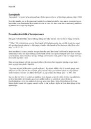 Læreplads | Noter | Analyse | Kim Fupz Aakeson