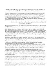 Nattergalen | Analyse, fortolkning & vurdering