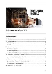 Brøchner hotel | Erhvervscase | 12 i karakter