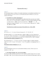 Cykellygter | Matematik | Hjemmeaflevering