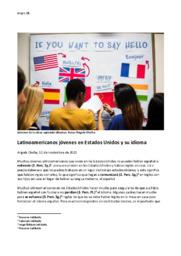 Jóvenes in la clase aprende idiomas | Spansk aflevering