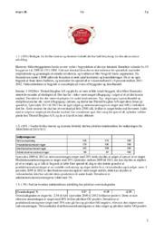 Thisted Bryghus AS | Noter | Virksomhedsøkonomi