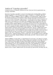 Analyse | Uspiselige spisesedler