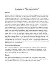 Analyse af Skyggeporten  | 10 i karakter