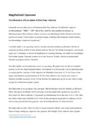 Magtforhold i hjemmet | Analyse af Læreplads