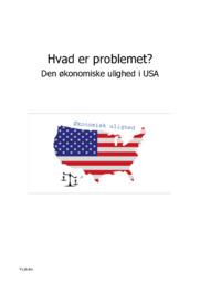 Hvad er problemet   Den økonomiske ulighed i USA