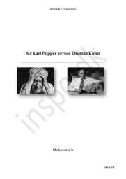 Sir Karl Popper vs Thomas Kuhn | Idehistorie