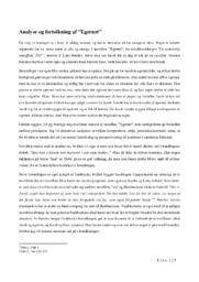 Analyse af Egernet | 10 i karakter