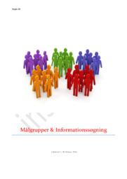 Målgrupper & Informationssøgning | Gallup Kompas og Minerva