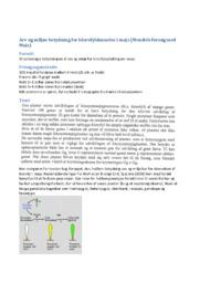 Arv og miljøs betydning for klorofyldannelse i majs