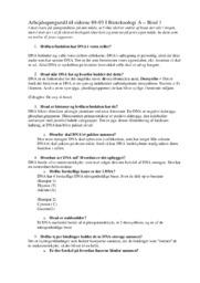 Bioteknologi A | Bind 1 side 89 til 93 svar
