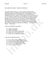 Internship hos Mercedes – Praktikum bei Mercedes | Tysk