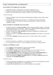 Fortælletekniske grundbegreber | Nødvendige noter