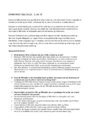 DANMARKS TILBLIVELSE   S. 64-70   Noter