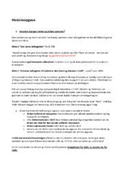 Historieopgave   Spørgsmål til vikinger