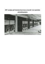 Analyse på krematorieovnene anvendt i de nazistiske…..