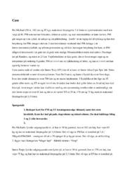 Idrætscase | Motion og målinger | 12 i karakter