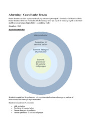 Haahr Benzin | Noter | Afsætning Case | Konkurrenceopgave