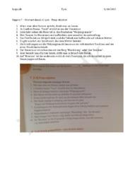 Opgave 7 – Præp-objekter | Oversæt fra dansk til tysk
