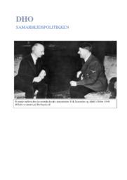 Samarbejdspolitik under besættelsen   12 i karakter