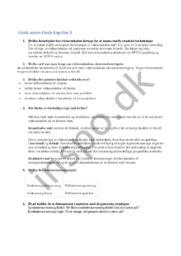 Noter i afsætning | kapitel 8