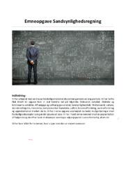 Sandsynlighedsregning | 10 i karakter