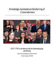 Kvindelige statslederes håndtering af coronakrisen | SO
