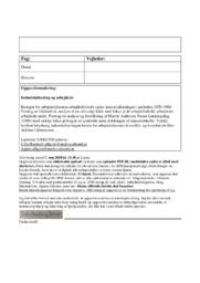 Arbejderklassens arbejderforhold | DHO