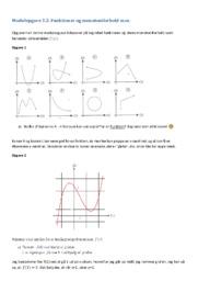 Funktioner og monotoniforhold | 10 i karakter