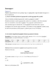 Diskrete & ugrupperede variable | Matematik opgave