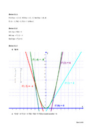 Facitliste kap 3. Differentialregning Matematik B   Noter