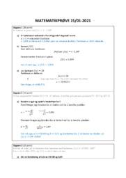 Matematikprøve 15 01-2021   12 i karakter