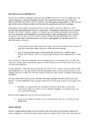 Behaviorisme og social indlærings teori   Psykologi noter