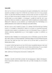 Psykologicase | Analyse af Heidi