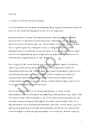 Hummel | Internationalisering & forretningsområder | Afsætning