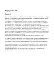 Mejerigaarden AS | 10 i karakter | Afsætning