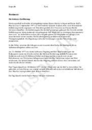 Die Schleyer-Entführung – Resümee von RAF artikel