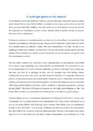 Essay   Landbrug   10 i karakter