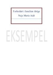Novelleanalyse af Bulbjerg og Torben og Maria | 10 i karakter