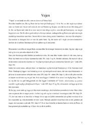 Vejen | Analyse | 10 i karakter