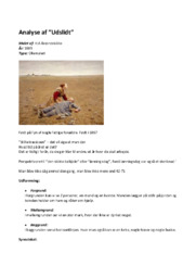 Analyse af Udslidt | 10 i karakter